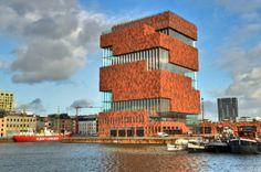 Museum MAS, Antwerp, Belgium #architecture ☮k☮