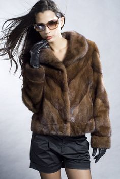 Outlet swinger saga mink coat fur nerz pelz nerzmantel pelzmantel ...