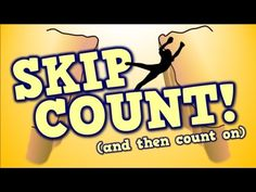 ▶ SKIP COUNT! (...and then count on) [song for kids about place value] - YouTube