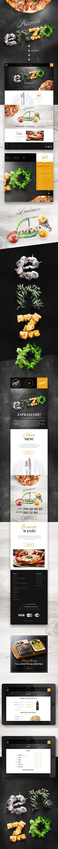 Pizzeria ENZO - #art #direction