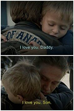 </3 this broke my heart :'( just the thought that he's never gonna see his daddy again..:'( poor bby <3
