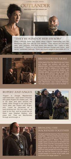 Outlander Newsletter - MacKenzie Family Values