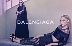 La campagne Balenciaga printemps-été 2015