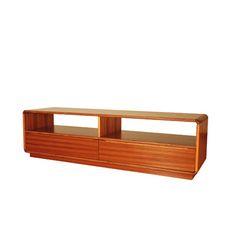 Scandic TV Bench in teak $939
