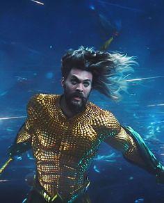 Dc Movies, Good Movies, Aquaman Momoa, Aquaman 2018, Black Manta, Dc Comics Superheroes, Superhero Movies, Detective Comics, Jason Momoa