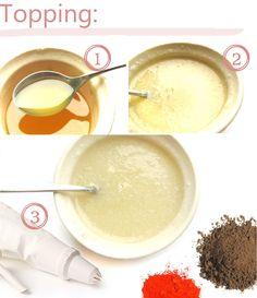 Rezept um Bade-Cupcakes selber zu machen | Naturseife und Kosmetik selber machen