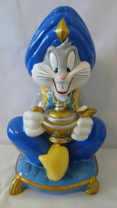 Bugs Bunny Cookie Jar made in China for Warner Brothers Studio Store: