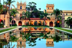 Balboa Park - San Diego, California #CMGlobetrotters Beautiful San Diego, so much to do, perfect weather year round. Love this city!