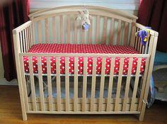 Crib sheet directions