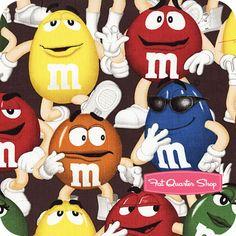 M & M's Multi Funfetti Packed Characters Yardage SKU# 43420-3200715
