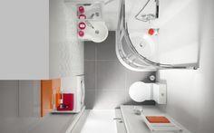 Wyposażenie, Aranżacja małej łazienki - Należy tak zadbać o wystrój wnętrza, aby wykorzystać dostępną przestrzeń i optycznie ją powiększyć. Ważny jest dobór odpowiednich...