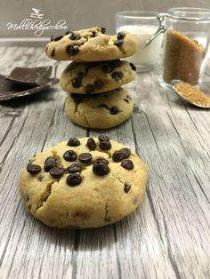 COOKIES AMERICANI RICETTA PERFETTA - Non so voi, ma io adoro i cookies, i classici biscottoni americani che siamo abituati a vedere in film e ...
