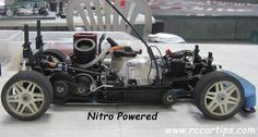 Nitro Powered RC Cars