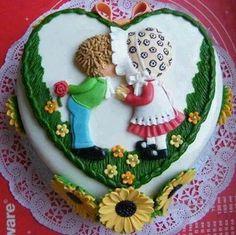 Jack and Jill cake