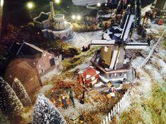 Kersthuisjes in Oud-Hollandsche stijl