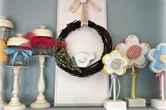 crafts to make with Inside Cabinet Shelving   Craft Ideas for Home Décor : Craft Ideas For Home Décor With Red ...