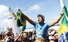 Quem são os brasileiros que levaram o surfe a outro nível em 2015