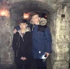 When they were in Edinburgh