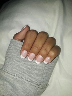 Beautiful French Tips