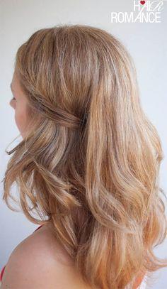 17 Gorgeous 10-Minute Hairstyles   HelloGlow.co