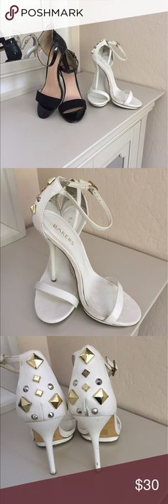 Ebony and Ivory Summer Sandals Just in time for summer 2 pairs of sandals Shoes