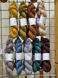 Viola yarn, 100% merino wool, from John Arbon Yarns
