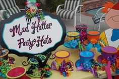 Wonderland / Mad Hatter Birthday Party Ideas | Photo 4 of 7 | Catch My Party