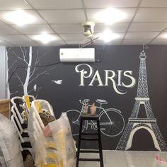 Vẽ tranh tường tại tphcm giá rẻ