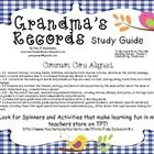 Study Guide for HM Reading Series, Celebrating TraditionsTheme 2, Week 2, Grandma's .....  a study guide to be used with HM Reading Series story. $5