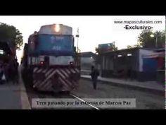 Llegada del tren a Marcos Paz, Buenos Aires ¿Va a desaparecer?