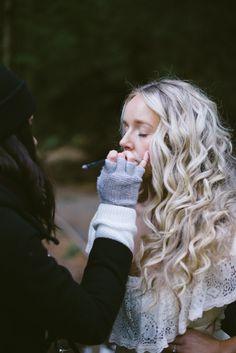 Cydney Sjostrom Makeup, Seren Photography, Lovely Locks Studio, Vancouver Island, Makeup Artistry, Forest Photoshoot, Canada