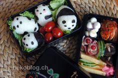 cute Panda Obento~ Japanese lunchbox
