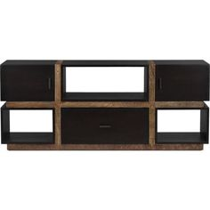 """Diego 68"""" Media Console in Media Stands, Consoles   Crate and Barrel  I want!"""