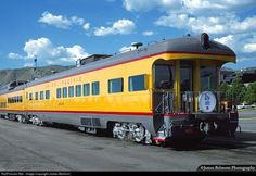 Union Pacific business car Arden was built in 1950 by Pullman Standard as coach No. 5449. It was rebuilt in 1952 to the business car Arden without ever seeing regular passenger service. The car was designed for the use of E. Roland Harriman, chairman of the board of Union Pacific from 1946 to 1969.