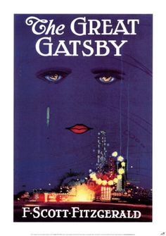 "The Great Gatsby.   F. Scott Fitzgerald:  ""To write it took three months; to conceive it three minutes; to collect the data in it all my life."""