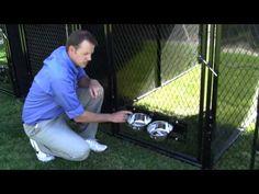 K9 Kennel Store Multiple Kennels Full Stalls System - YouTube