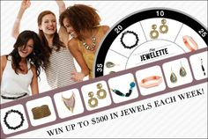 And the award for Best Deal goes to … Who knows? Try your luck at Jewelette, and it could be you! Radiant jewels, stunning chains, and dramatic tassels await this week's top scorers (that's up to 8 pieces and a $500 value). Plus, all players receive a 15%-off coupon.