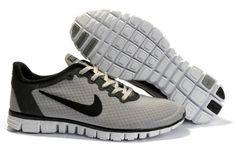 Nike Free Run 3.0 V2 Zapatillas para Hombre Lobo Grises/Negras-Beige http://www.esnikerun.com/