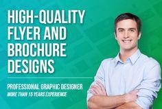 Design A Professional Flyer, Postcard Or Brochure ~ Graphic Fiverr Brochure Design, Flyer Design, Promotion, Layout, Design Services, Brochures, Flyers, Banner, Graphic Design