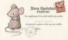 DIY Petite souris - Bon pour dentperdue