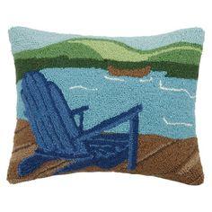 Found it at Wayfair - Lake Adirondack Wool Lumbar Pillow