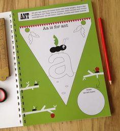 Mini Makes Cut And Colour Alphabet Bunting Book