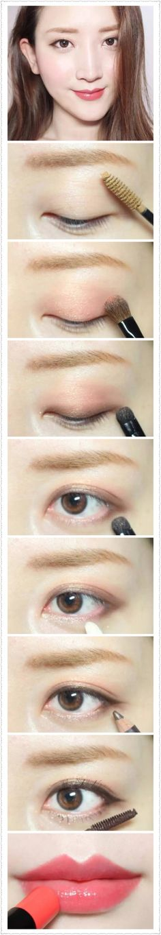 Korean natural make up #make up #idea