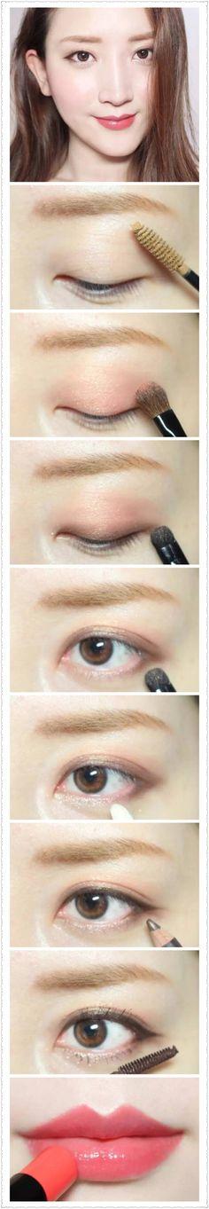 Korean natural make up #make up #idea
