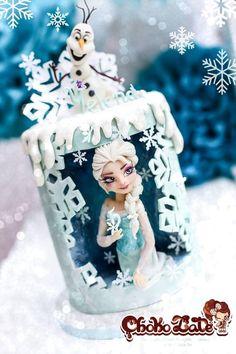 Frozen - Elsa reine des neiges - Cake by ChokoLate