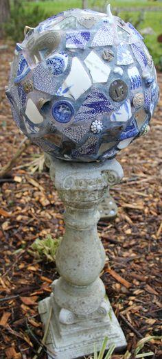 Mosaic memory ball - older kid craft idea.