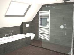 Badkamer met gekleurde LED verlichting - Dagmar Buysse