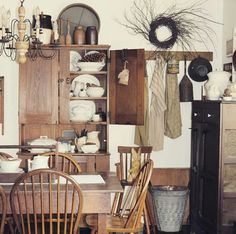 Farmhouse Dining Room -  At Home on SweetCreek