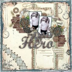 """My Dad, My Hero """"For Father"""" Collection by Pion Design"""