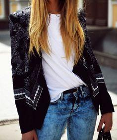 Embellished jackets.